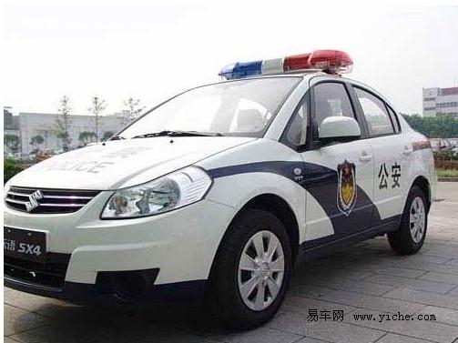 警车民用导购 长安铃木雨燕sx4高清图片