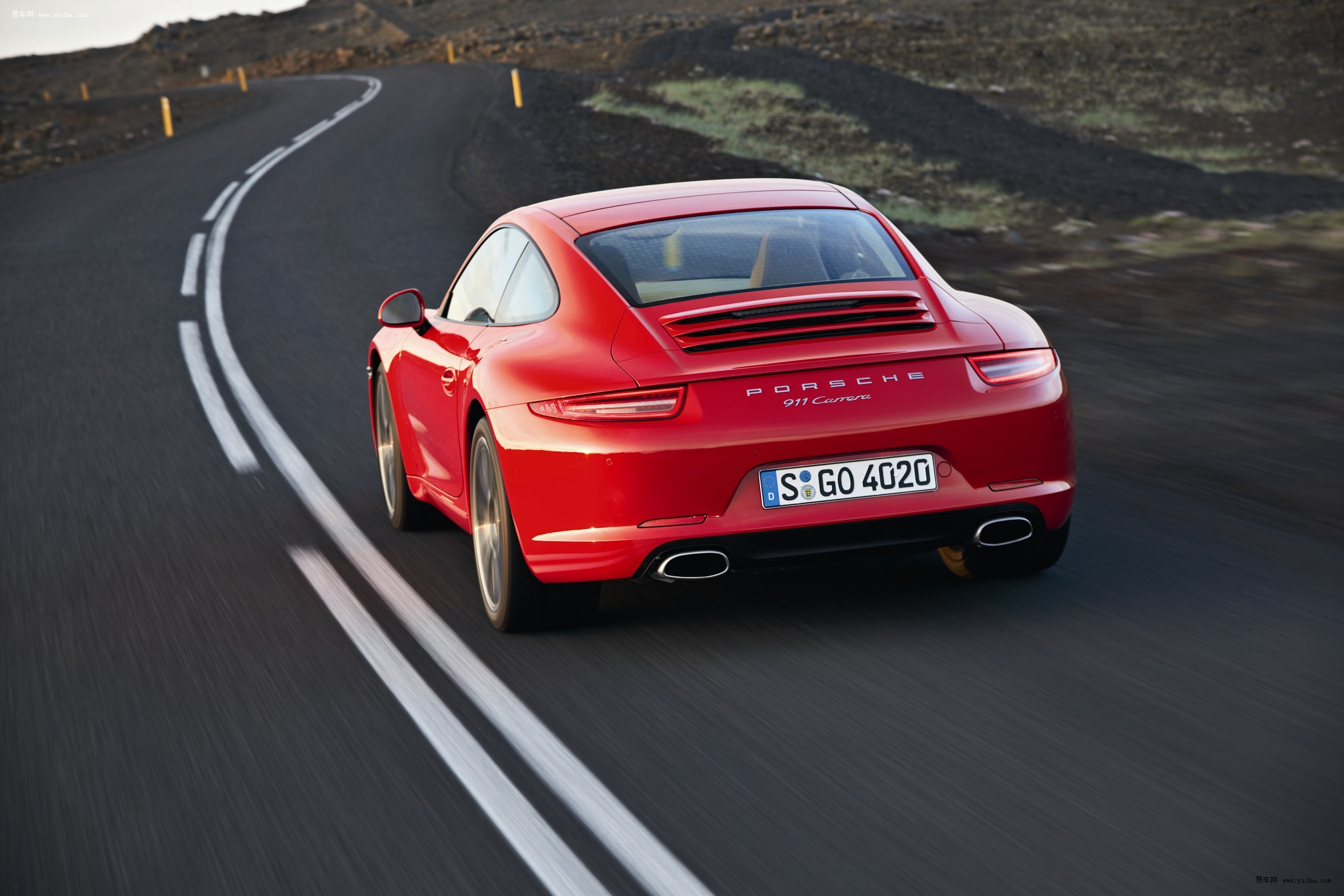 新保时捷911 carrera高清图片