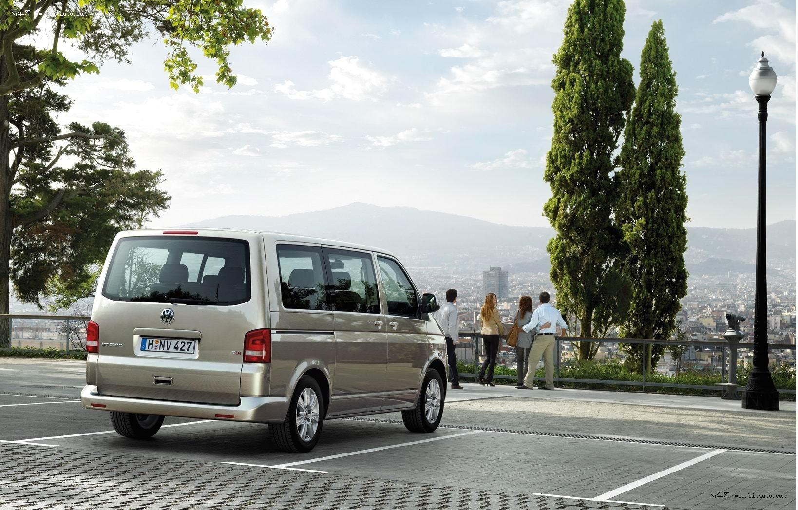 可靠的全时四驱系统 大众汽车multivan多功能商务车魅力解析高清图片