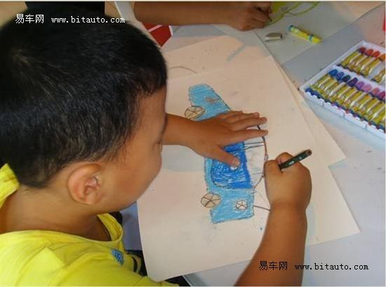 """【图文】扬州华泰""""我心中的江淮车""""儿童绘画比赛"""
