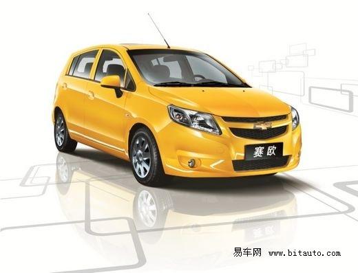 新赛欧是由上海通用自主研发、拥有独立知识产权的车型.高清图片