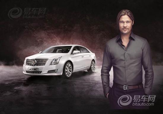 图 好莱坞国际巨星布拉德b皮特代言凯迪拉克最新豪华轿车xts 高清图片