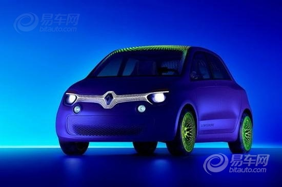 雷诺发布twin'z电动概念车 预计明年量产