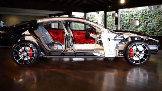 阿斯顿马丁Rapide S车体全解剖