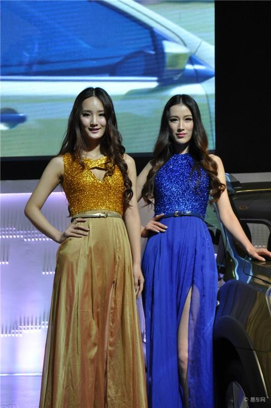 2013青海西宁国际车展现场 美女车模图片