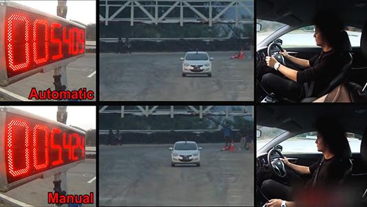 手动自动对比测试 试驾2013现代伊兰特