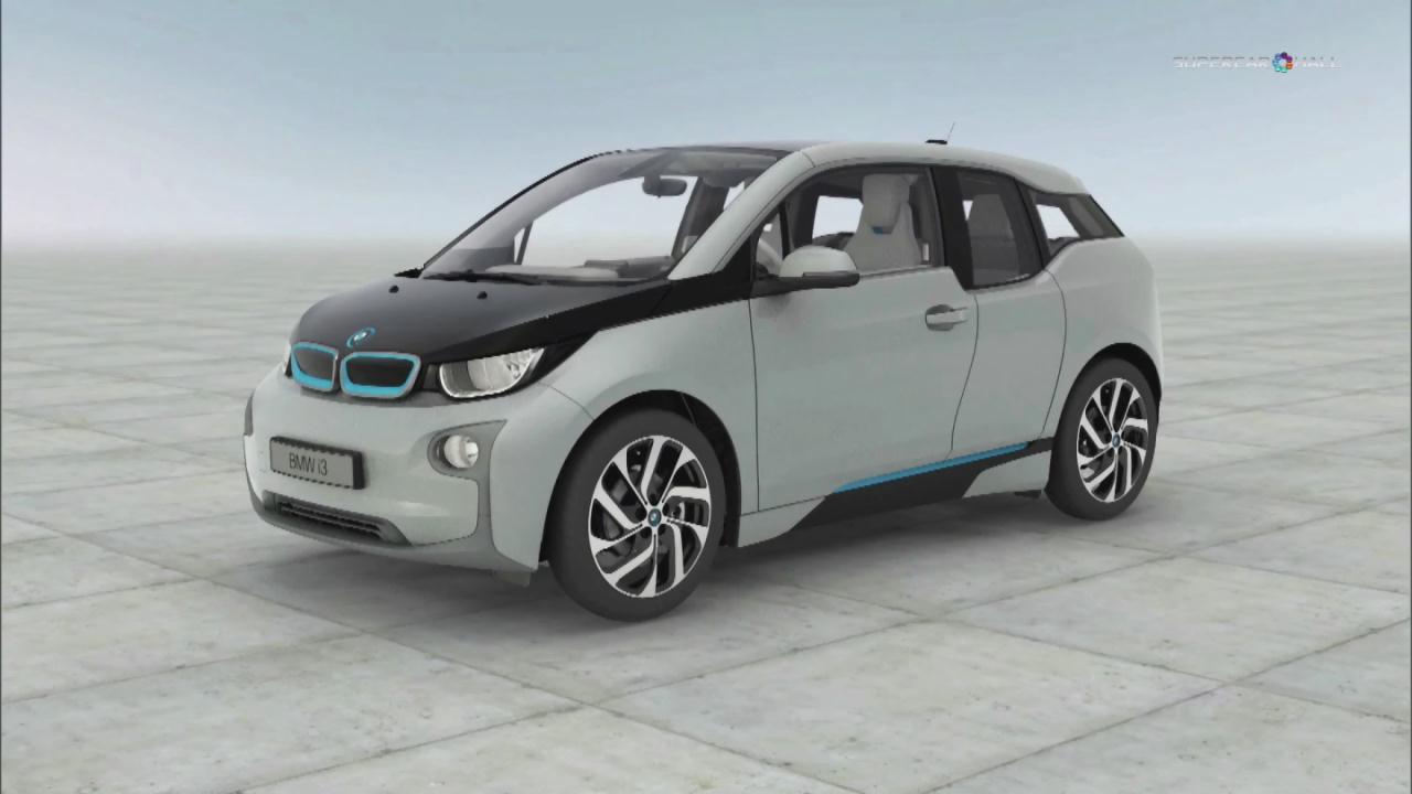 全球首发 全新宝马i3纯电动车科技展示