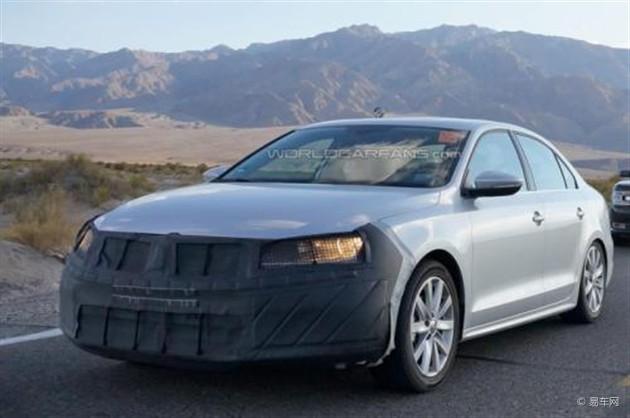 外观配置升级 2015款Jetta将亮相纽约车展