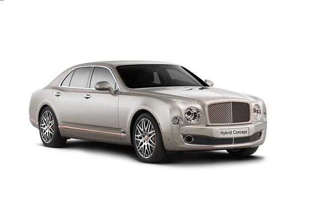 宾利将于北京国际车展首发混合动力概念车