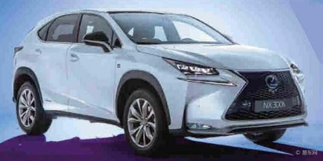 雷克萨斯全新NX跨界车将亮相北京车展