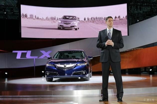 讴歌TLX量产版发布 将于北京车展国内首发