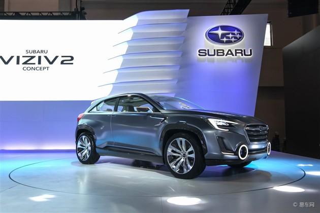 斯巴鲁强势出击 携概念车倾动北京车展