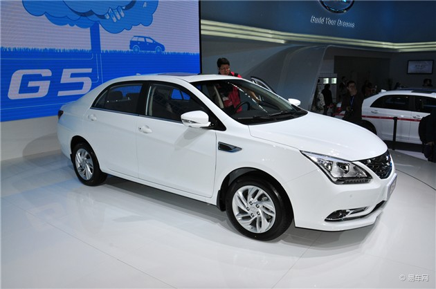 比亚迪G5北京车展发布 下半年上市