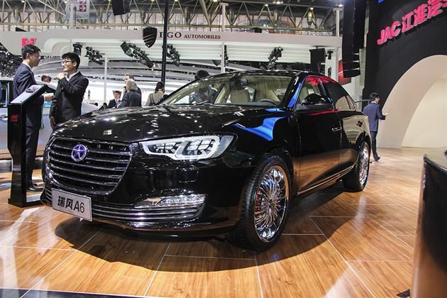 2014北京车展 江淮瑞风A6正式发布