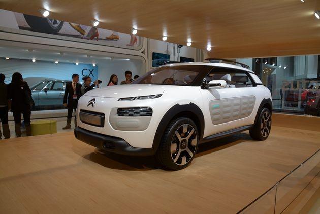 雪铁龙C4 Cactus概念车正式亮相北京车展