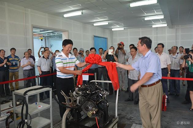 福汽新龙马首台自主研发VVT发动机下线