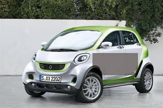 smart新车型消息曝光 SUV被列入首选名单