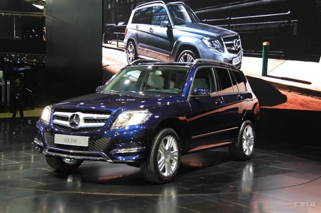 奔驰GLK200成都车展上市 售37.8万元