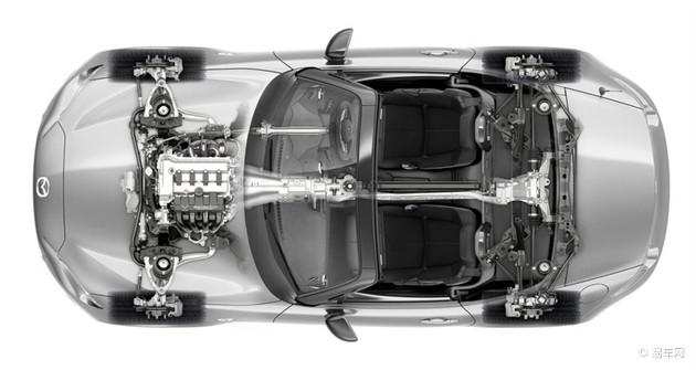 新MX-5搭载1.5L/2.0L发动机 巴黎车展发布