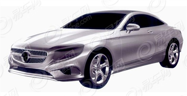奔驰S级Coupe申报图曝光 有望明年引入