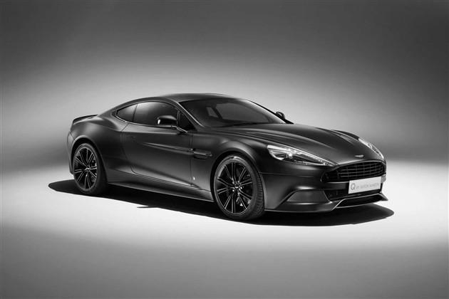阿斯顿马丁将推出Vanquish黑色特别版车型