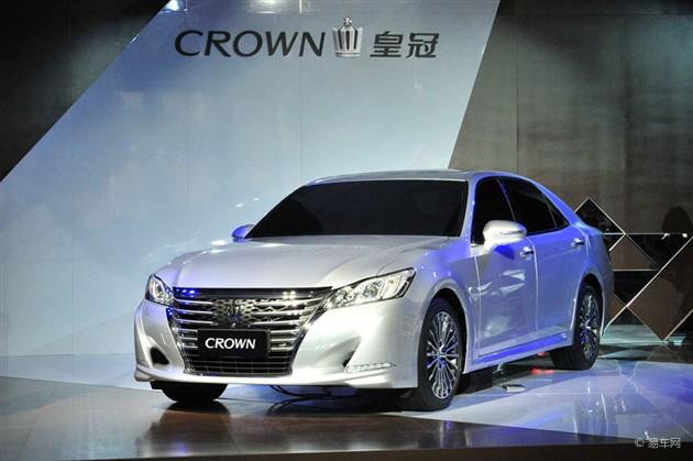 丰田新一代皇冠亮相2014广州车展