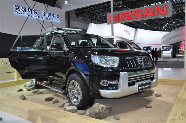 2014广州车展 福田萨瓦纳SUV首发亮相