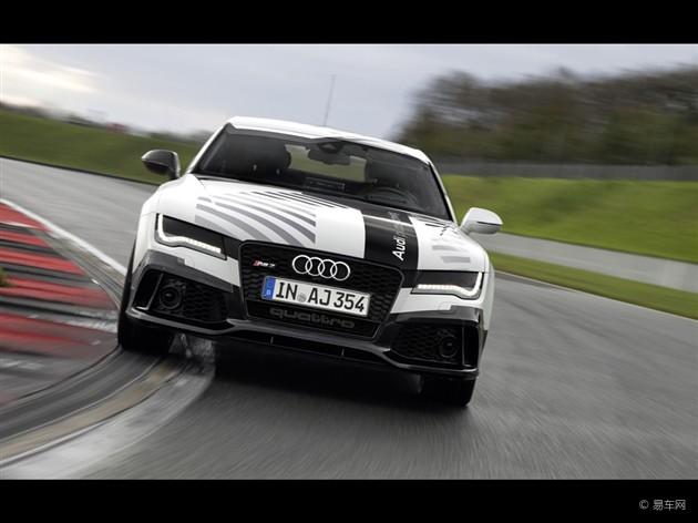 奥迪RS7无人驾驶概念车实现赛道测试