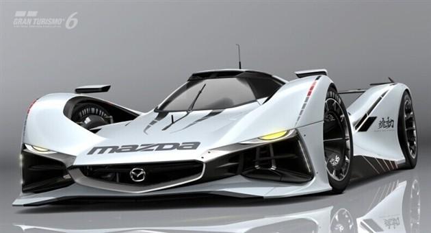 马自达LM55 Vision Gran Turismo概念车