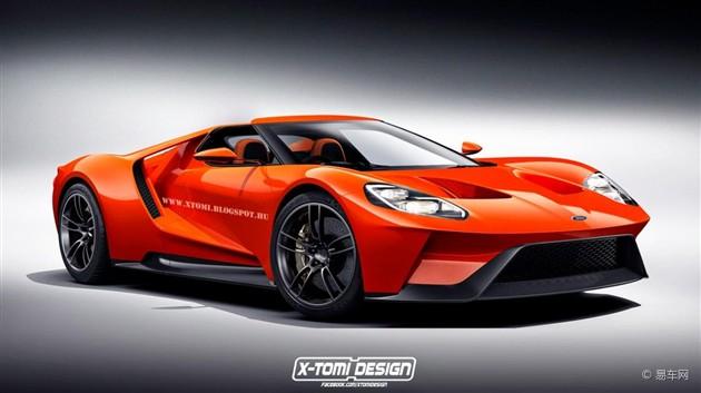福特新一代GT敞篷版车型假想图曝光