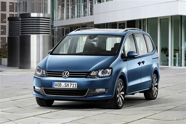新款大众夏朗将日内瓦车展首发 配置升级