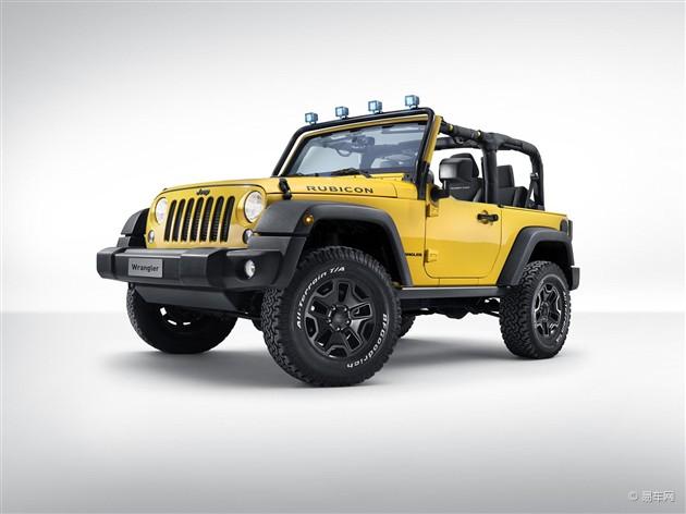 Jeep牧马人Rubicon特别版亮相日内瓦车展