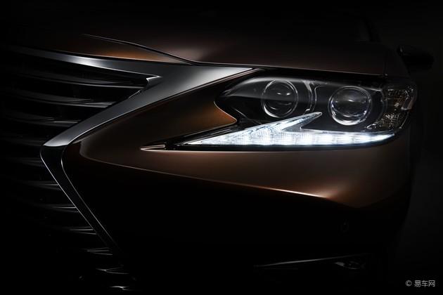 雷克萨斯新款ES将亮相上海车展 细节调整
