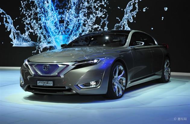 2015上海车展 长安全新概念车首发亮相