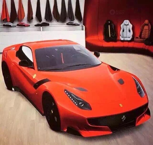 曝法拉利F12 GTO实车图 法兰克福车展发布