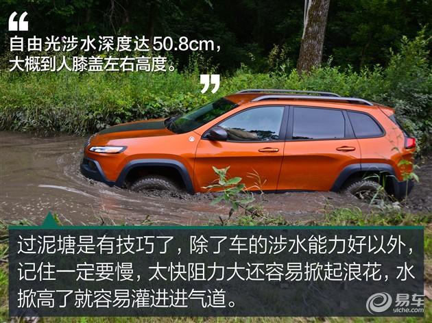 越野全地形 Jeep自由光北美体验高清图片
