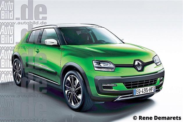 雷诺计划2017年推出迷你SUV 定位低于卡缤