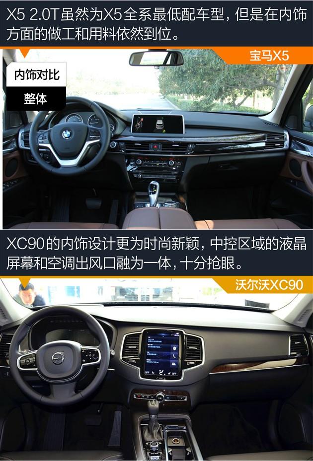 沃尔沃XC90对比X52.0T一对柔情硬汉