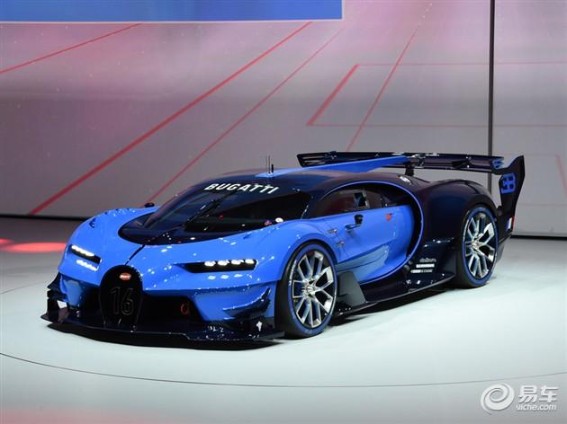 2015法兰克福车展 布加迪Vision GT概念车