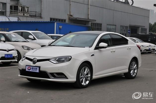 MG6新车型上市 售11.98万-13.28万元