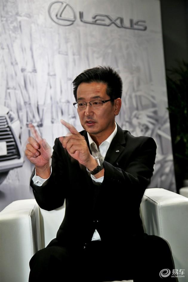 全新雷克萨斯RX总工程师腾田隆之