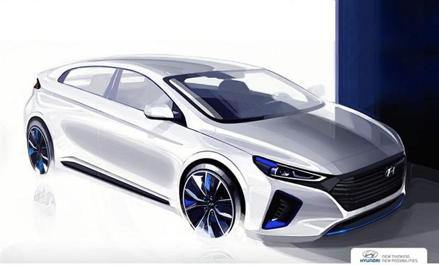 现代IONIQ将亮相纽约车展 三种新能源动力