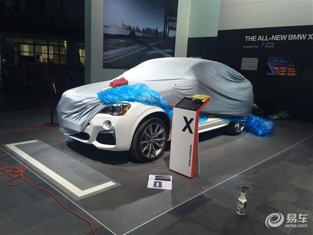 2016北美车展探馆 宝马X4 M40i亮相