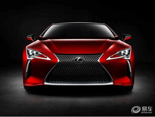 全新雷克萨斯LC500北美国际车展全球首发