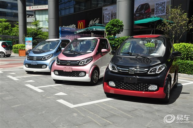 众泰E200深圳首发 最低仅售5.98万元