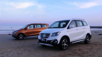 北京福田伽途ix 首款大7座智能家庭车