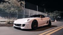 法拉利599 GTB 改装霸气轮毂锦上添花