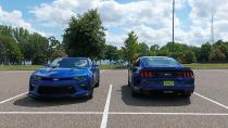 福特Mustang GT 对比雪佛兰科迈罗SS