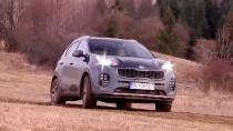 全新起亚KX5 湿滑泥泞路面性能测试