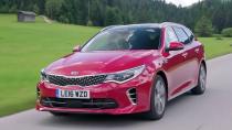 全新起亚K5旅行车GT版 配6速自动变速器